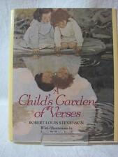 A Child's Garden of  Verses by Robert Louis Stevenson Illustration by JW Smith
