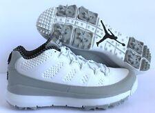 Nike Air Jordan IX 9 Retro Golf White Black Wolf Grey 833798-103 Size 8