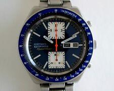 Seiko 5 Deportes speedtimer 6138-0030 Vintage Cronógrafo Reloj Automático para Hombres