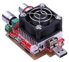 USB électronique Last Constant Courant Résistance Capacité Testeur OLED Amp Volt