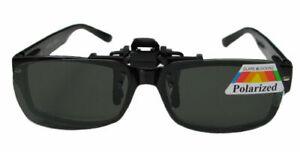 Überbrille Brille Aufsatz Clip-on Sonnenbrillenaufsatz Polarisiert hochklappbar