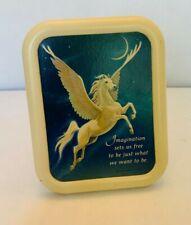 Hallmark Pegasus Plaque Vintage 1985 Fantasy Art Imagination Sets Us Free
