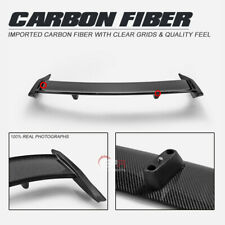 For Ford 19-20 Focus Mark 4 RS Type Carbon + FRP Unpainted Rear Spoiler Wings