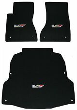 Lloyd Mats LUXE Custom Made 3PC MAT SET 2004-2007 Cadillac CTS-V **V Series Logo