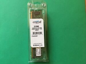 CT6464AA667 512MB 240P DIMM 64Mx64 DDR2PC2  5300 unbuff  Crucial / Micron