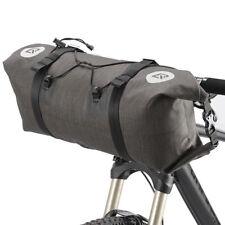 RockBros Bicycle Roll Handlebar Bag Cycling Bag Large Capacity Black Gold 14-15L