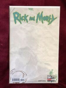 Rick and Morty #1  (October 2015, Oni Press Blank Variant)