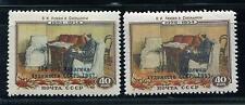 RUSSIA YR 1958,SC 2060,MI 2074,MNH,ART ACADEMY OVERPRINTED PRINT VARIETY