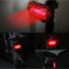 Waterproof bicycle bike tail warning eed rear safety flash light 5 led_S