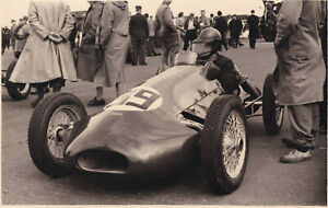 EMERYSON 500cc, P.EMERY, DAILY EXPRESS TROPHY MEETING SILVERSTONE MAY1952PHOTO