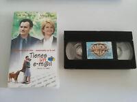 TIENES UN E-MAIL VHS COLECCIONISTA EDICION ESPAÑOLA TOM HANKS MEG RYAN