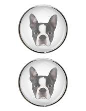 Boston Terrier Stud Earrings
