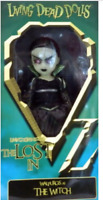 Living Dead Dolls MEZCO GLOWS The Lost in Oz WIZARD WALPURGIS WITCH UNOPENED