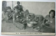 pc 1908 MISSIONARY COOK HOUSE AT BULSAR INDIA