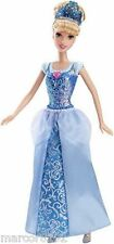 "Disney Sparkling Princess Doll Cinderella 11 1/2"" Tall New"