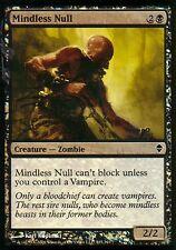Mindless cero foil | nm | Zendikar | Magic mtg