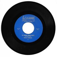 DOO WOP 45 THE KING COBRAS TO HOLD YOUR LOVE ON IRBANNE  VG+ REPRO