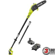 Ryobi Pole Saw One+ 8 in. 18-Volt Lithium-Ion Cordless 1.3 Ah Battery Charger