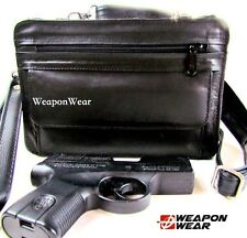 Concealed Carry Concealment Bag Black Organizer plus Holster Cross Body Small