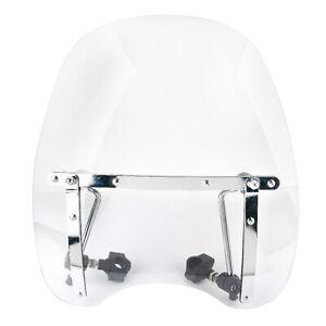 Motorcycle Motorbike Windscreen Wind Screen Deflector PC Windshield Universal