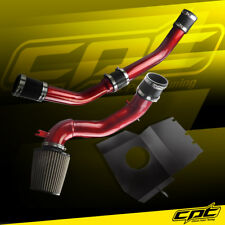 08-15 Lancer Turbo 2.0L Evo X 10 Red Cold Air Intake + Stainless Filter