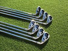 Callaway X-18 Irons Callaway UniFlex Steel Shafts 4-PW+SW RH VERY GOOD!!!!