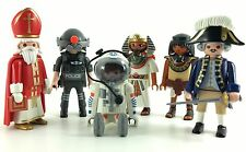 Playmobil X6 Knights Figures Castle falcon Accessories Guerreiros lot Pirates Bi