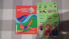 SET COMPLET 323 STICKERS+EMPTY ALBUM PANINI POCKET WORLD CUP GERMANY 2006 RARE