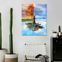 Scenery Oil Painting DIY Paint By Numbers Acrylic Drawing On Canvas Home LU7