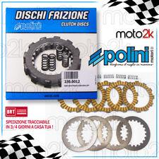 SERIE DISCHI FRIZIONE POLINI PER DERBI GPR 50 racing dal 2006-> (DERBI D50B)