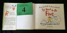 """Jaime Lee Curtis Signed """"It's Hard To Be Five"""" Book"""