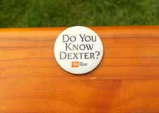 """Do You Know Dexter? JBL UREI Electronic Products  2 1/4"""" Pin Pinback Button"""