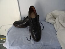 MENS CLARKS BLACK LEATHER LACE UP BOOT-LIKE SHOES SIZE UK 9 G