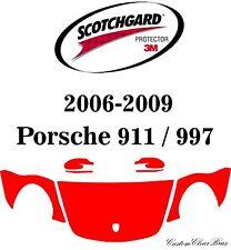 3M Scotchgard Paint Protection Film Clear 2006 2007 2008 2009 Porsche 911 / 997
