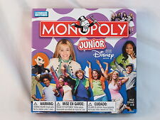 Monopoly Junior 2007 Disney Channel Edition Board Game Parker Bros Near Mint **