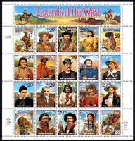 1994 Legends of the West  Sc 2869 MNH sheet of 20