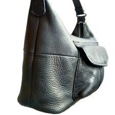 Vintage FOSSIL Shoulder Bag Purse Black Pebble Leather RECONDITIONED/EUC!!