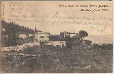 CARTOLINA d'Epoca - FIRENZE provincia : FIESOLE  Villa Boecklin 1905