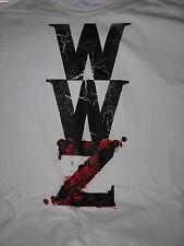 """World War Z "" T-Shirt –  Movie Film Crew Item  (XL)"
