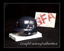 Aaron Hicks *MINNESOTA TWINS* Signed Autographed MLB Mini Helmet COA GFA