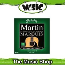Martin Marquis 92/8 P. Bronze 12-String Guitar Strings 10-47 Ex. Light - M2600