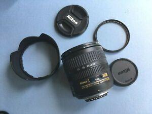 Nikon DX AF-S Nikkor 18-70mm f3.5-4.5 ED lens