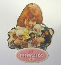 VECCHIO ADESIVO anni '80 / Old Sticker PELOCALDO GIG EL GRECO (cm 7 x 9)