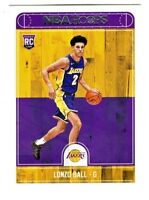 2017-18 Panini Hoops #252 LONZO BALL RC Rookie Los Angeles Lakers QTY AVAILABLE