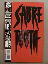 Sabretooth #1 Marvel Comics 1993 Series Wolverine Mystique 9.4 Near Mint