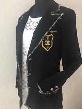 """100% Auth. Chanel black jacket with patch """"Devil Wears Prada"""" Giacca Blazer 🌹 36-38"""