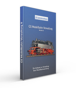 GS Modellbahn-Verwaltung 8 - Die Software zur Verwaltung Ihrer Sammlung