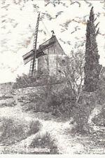 FONTVIEILLE moulin de Daudet éd maillard route de la sauvagère