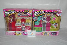 Shopkins Season 3 FASHION SPREE MAKEUP SPOT & SHOE DAZZLE BUNDLE! Limited NEW