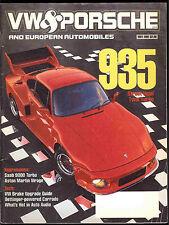 VW Porsche And European Automobiles May 1991 Saab 9000 Turbo Oettinger Corrado